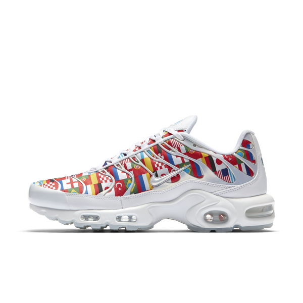 7cfed1b4e6 Nike Air Max Plus NIC World Cup International Flag Pack (AO5117-100)