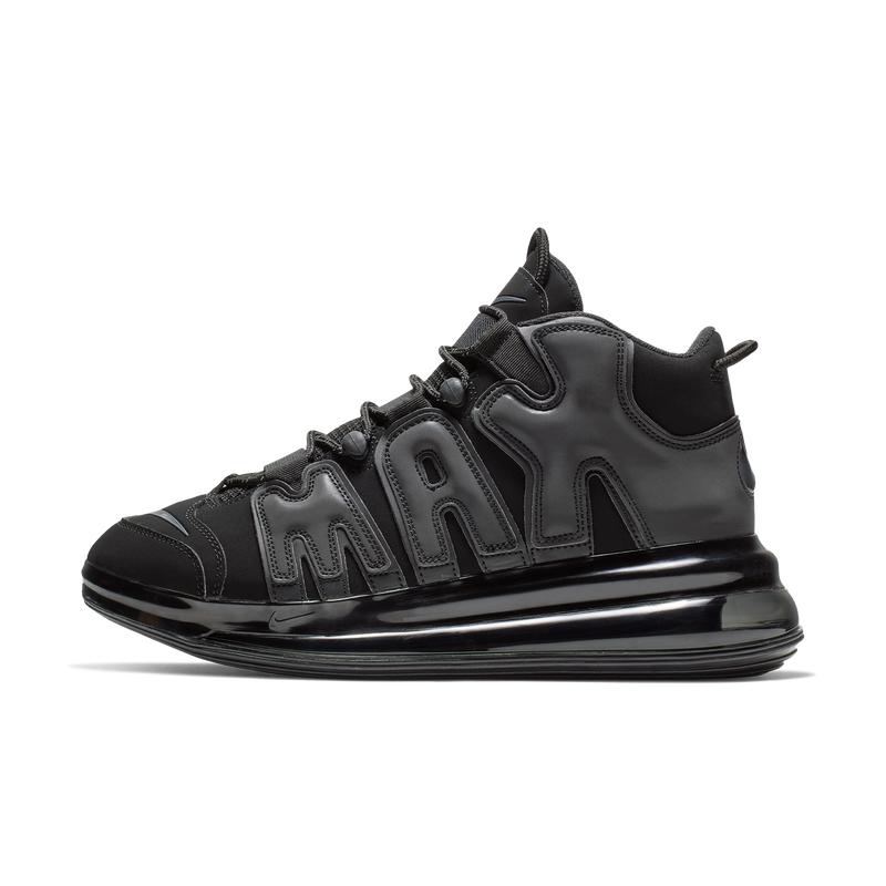 Nike Air More Uptempo 720 QS 1 Triple Black (BQ7668-001)