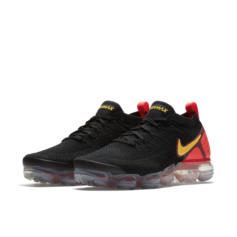 Nike Air VaporMax Flyknit 2 Black Orange (942842-005) - RMKSTORE