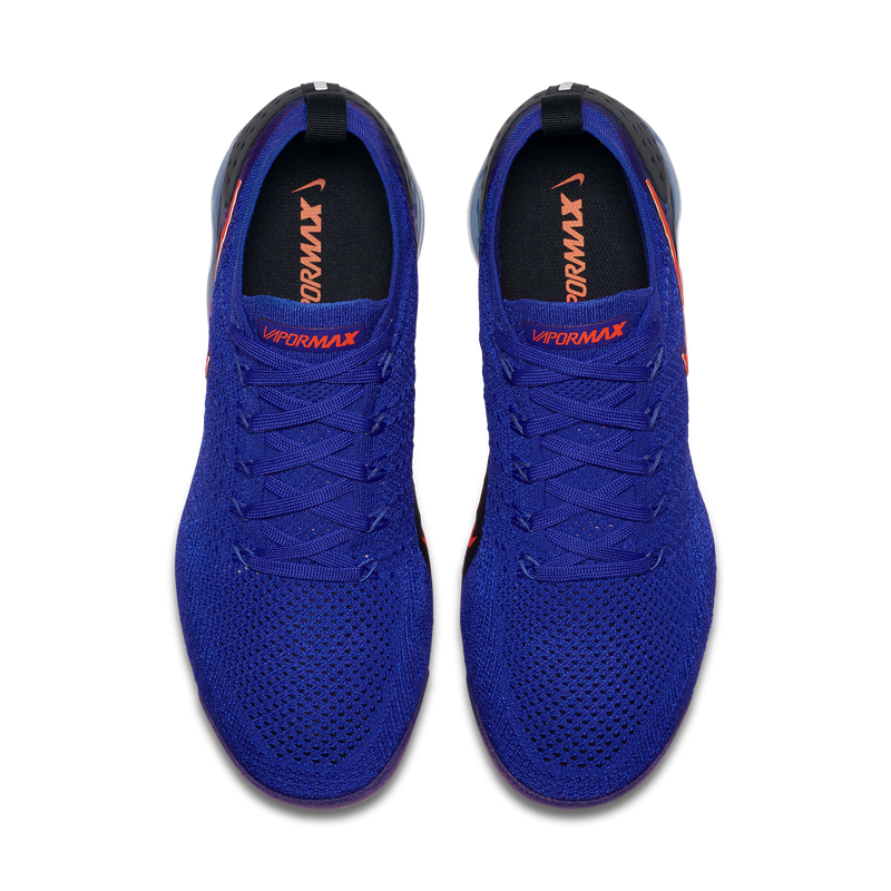 Nike Air VaporMax Flyknit 2 Racer Blue Orange (942842-400) - RMKSTORE