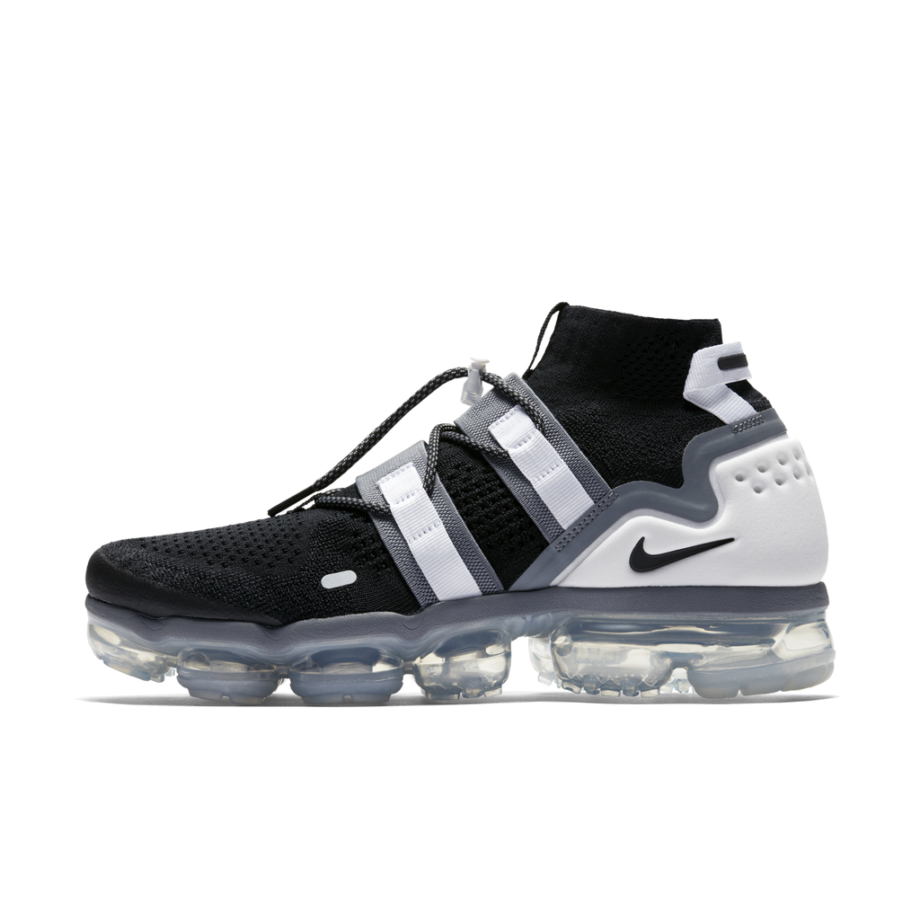 59af5c7ab655 Nike Air VaporMax Flyknit Utility Black White (AH6834-003)