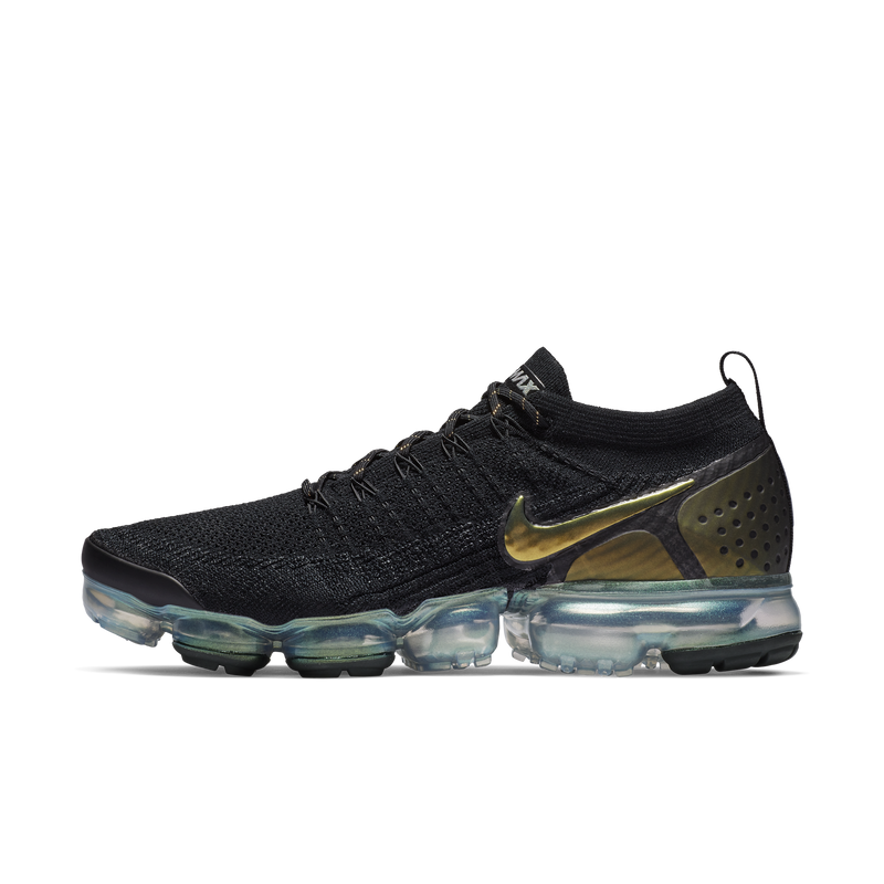 Nike Air Vapormax Flyknit 2 Black Gold (942842-015)
