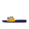 Nike Benassi Solarsoft NBA LA Lakers Slide Yellow Purple (917551-700) - RMKSTORE