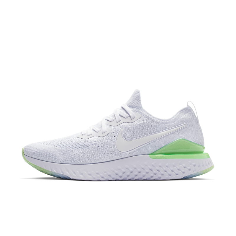 Nike Epic React Flyknit 2 White Lime (BQ8928-100)