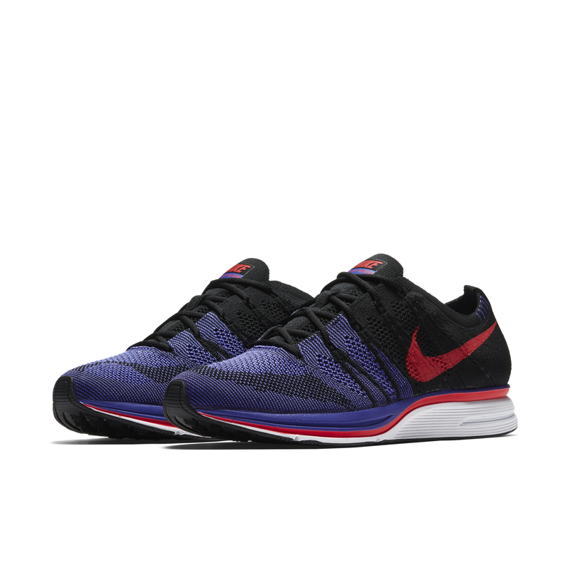 Nike Flyknit Trainer Black Siren Red Violet (AH8396-003)