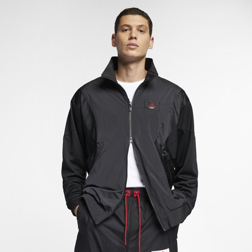 Nike Jordan Flight Warm-Up Jacket Black (AO0556-010)