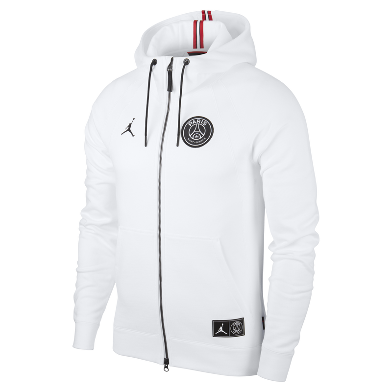 Nike Jordan PSG Wings Fleece Full-Zip Hoodie (BQ4196-100)