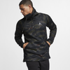 Nike Jordan Sportswear Flight Tech Camo Anorak Black (AH6164-010)