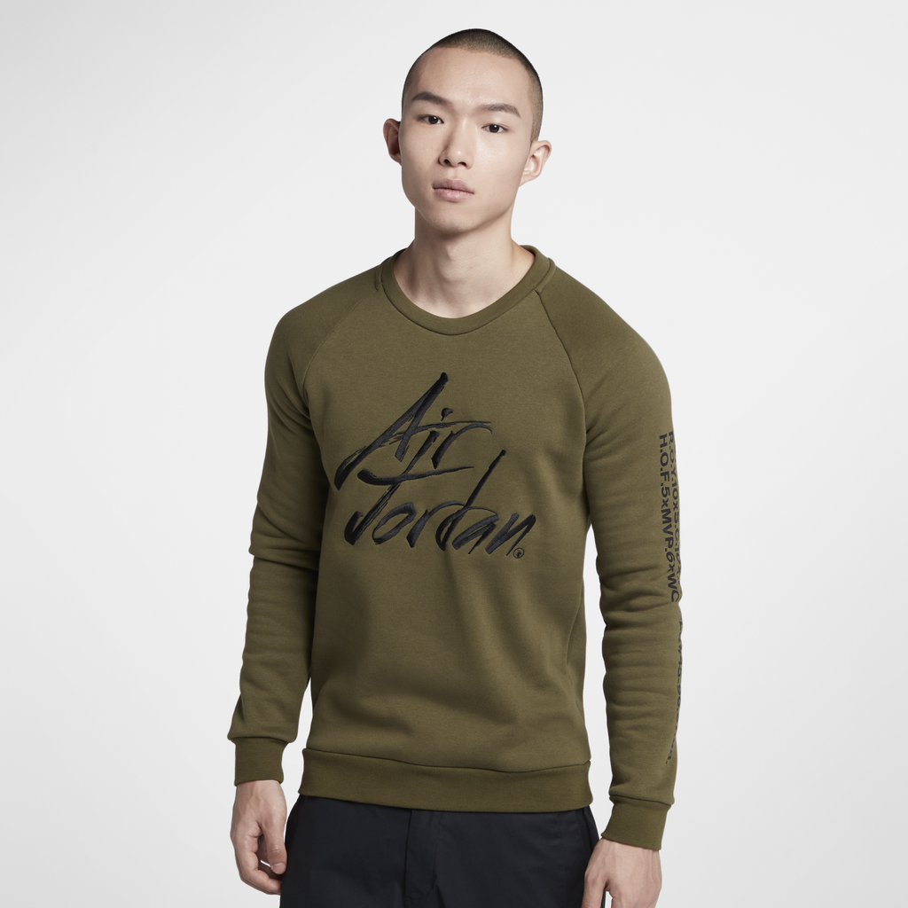Nike Jordan Sportswear Greatest Fleece Crew (AV6003-395)