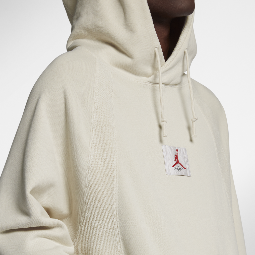 Nike Jordan Sportswear Wings Washed Fleece Pullover Hoodie (939957-072)