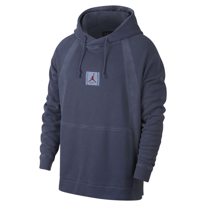 Nike Jordan Sportswear Wings Washed Fleece Pullover Hoodie (939957-451)