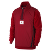 Nike Jordan Sportswear Wings of Flight Fleece Pullover Red (AH6256-687)