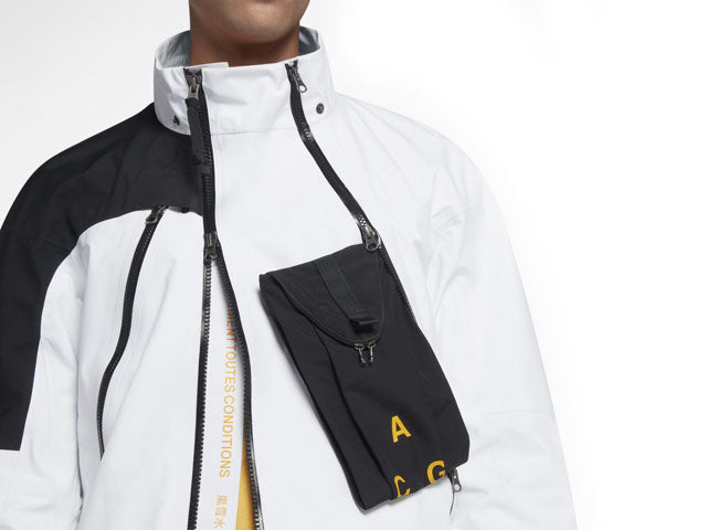 Nike Lab ACG GORE-TEX Deploy Jacket White Black (923952-100)