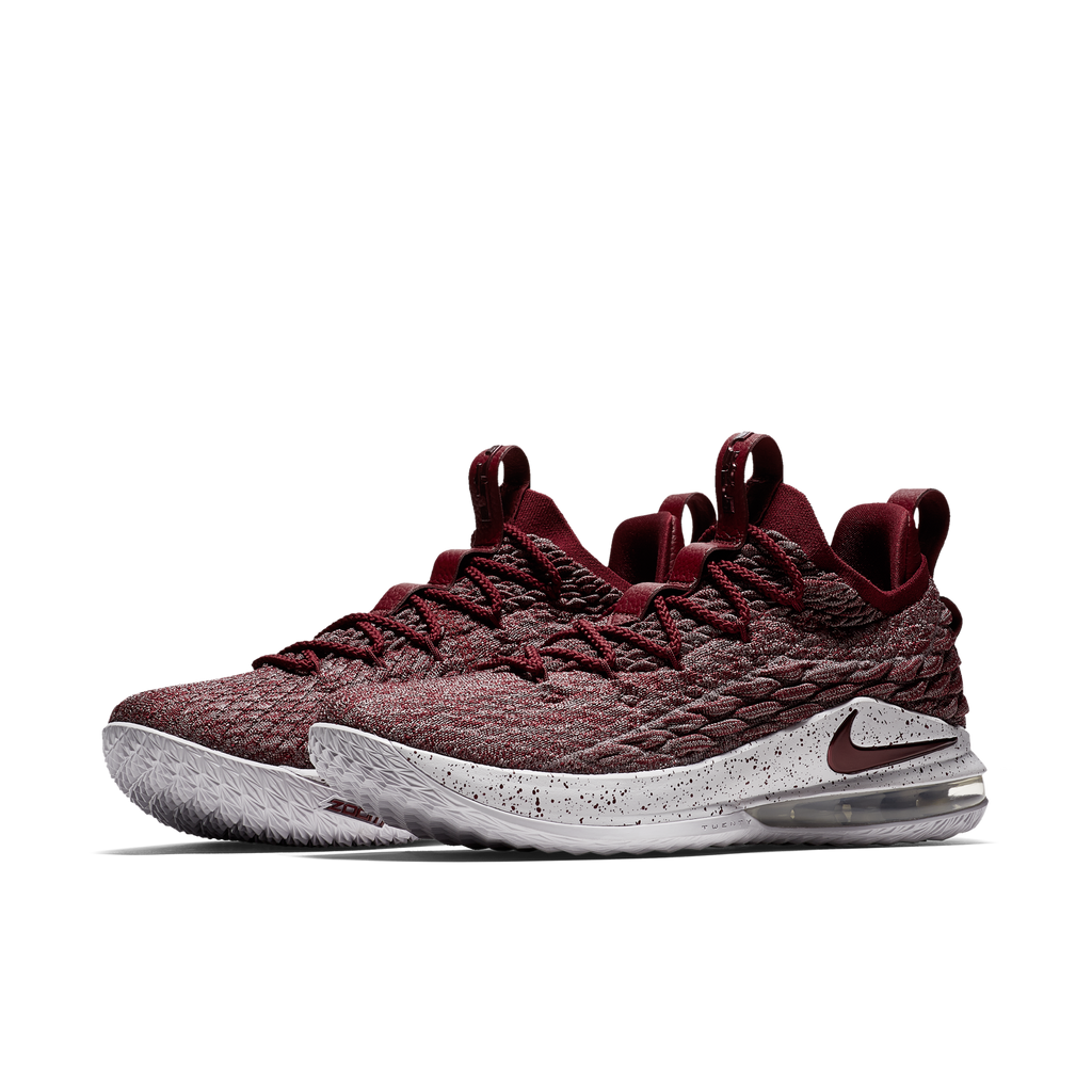 Nike LeBron XV Low EP Team Red Grey (AO1756-200) - RMKSTORE