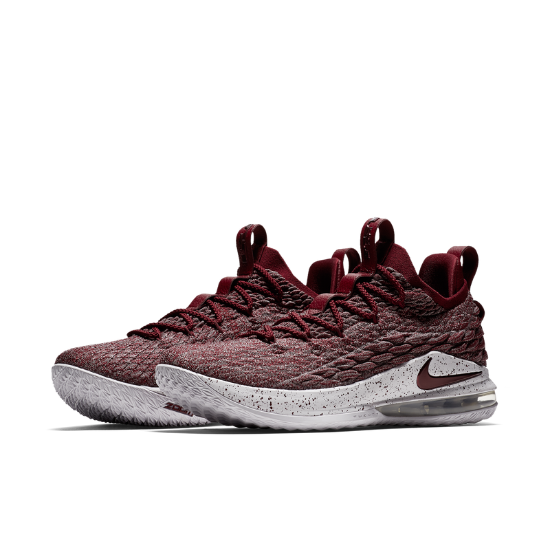 Nike LeBron XV Low EP Team Red Grey (AO1756-200)