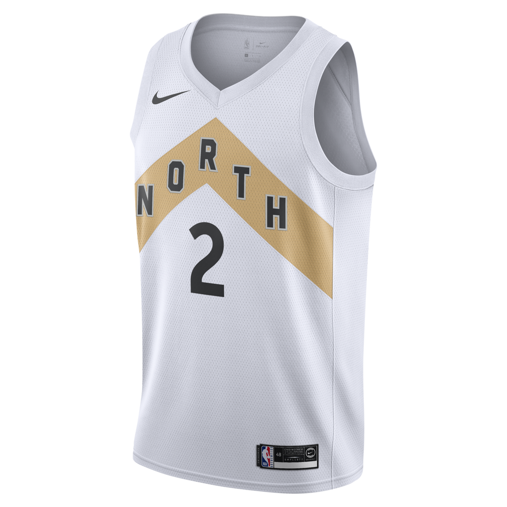 Nike NBA Kawhi Leonard (Toronto Raptors) City Edition Swingman Connected Jersey (AJ4646-102)