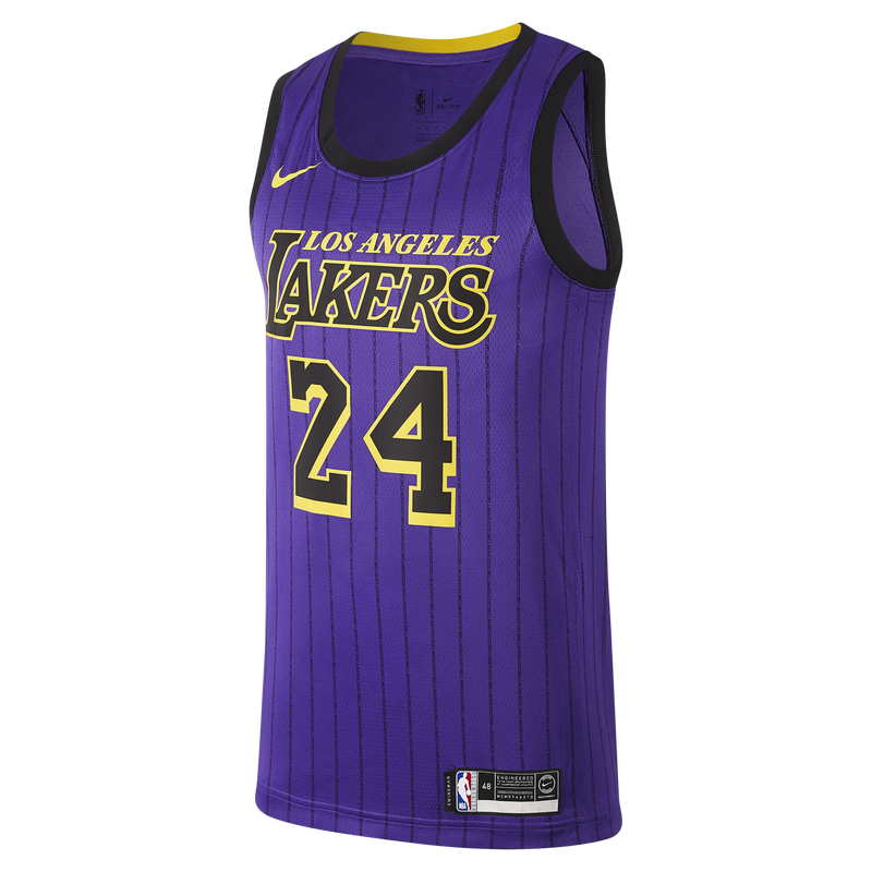 Nike NBA Kobe Bryant #24 City Edition (Los Angeles Lakers) Swingman Jersey (AV4270-505)