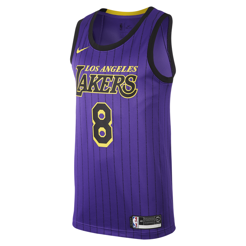 Nike NBA Kobe Bryant #8 City Edition (Los Angeles Lakers) Swingman Jersey (AV4270-504)