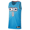 Nike NBA Russell Westbrook City Edition (Oklahoma City Thunder) Swingman Jersey (AJ4632-445)
