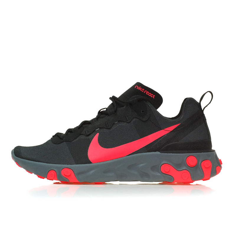 Nike React Element 55 Black Red (BQ6166-002)