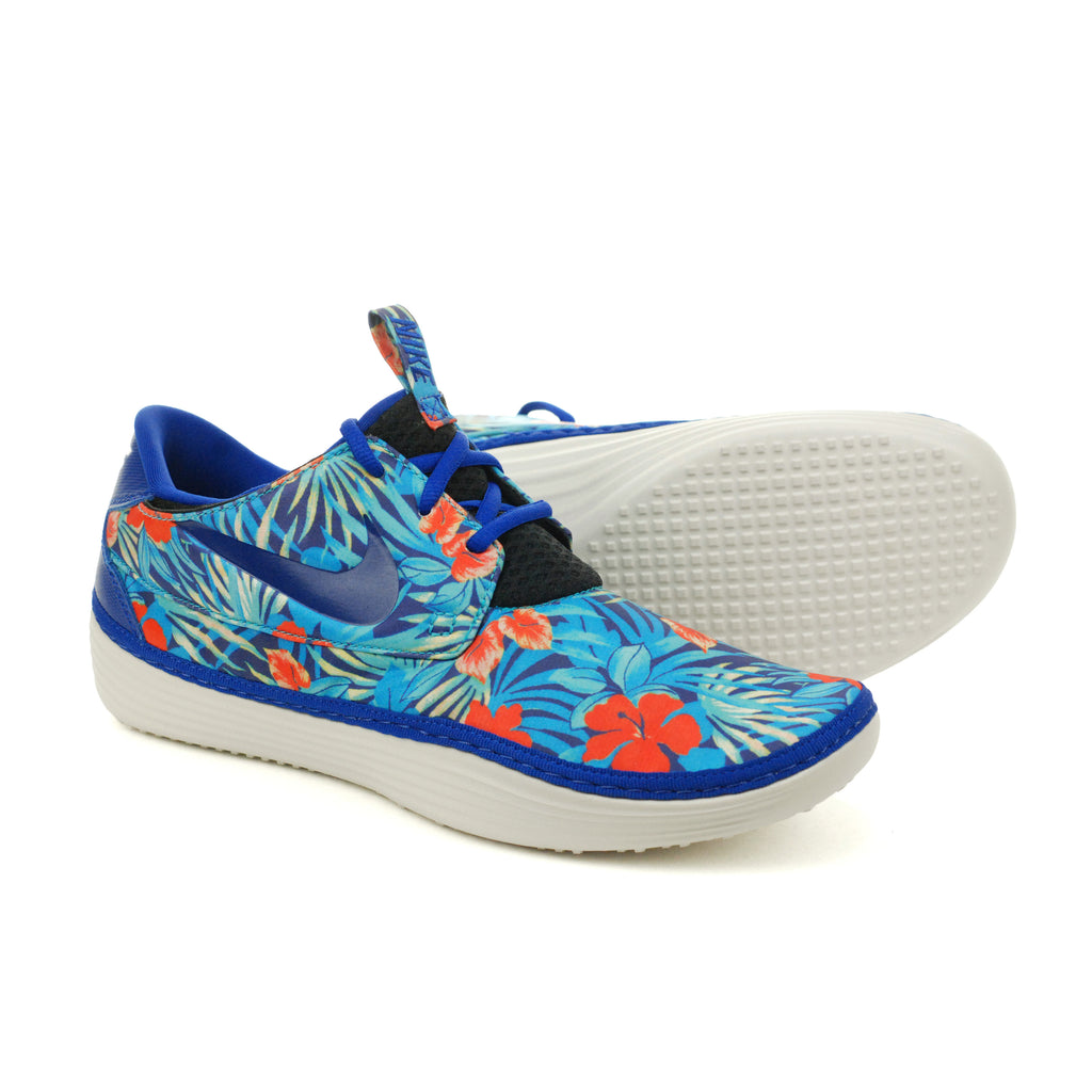 Nike Solarsoft Moccasin SP Floral Pack Old Royal Crystal Mint (622269-444)