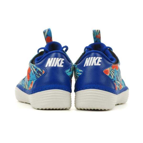 new styles 086ec 09aac Nike Solarsoft Moccasin SP Floral Pack Old Royal Crystal Mint (622269-