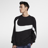 Nike Sportswear French Terry Crew Top Black (AR3089-012)
