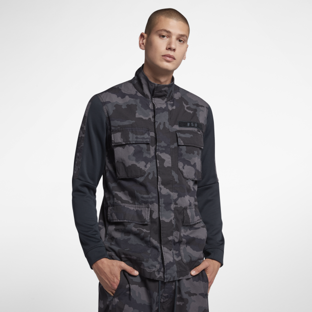 Nike Sportswear NSW Camo Men's Jacket (928622-475)