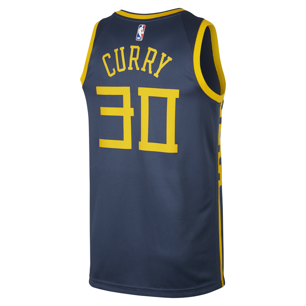 Nike NBA Stephen Curry City Edition (Golden State Warriors) Swingman Jersey (AJ4610-428)