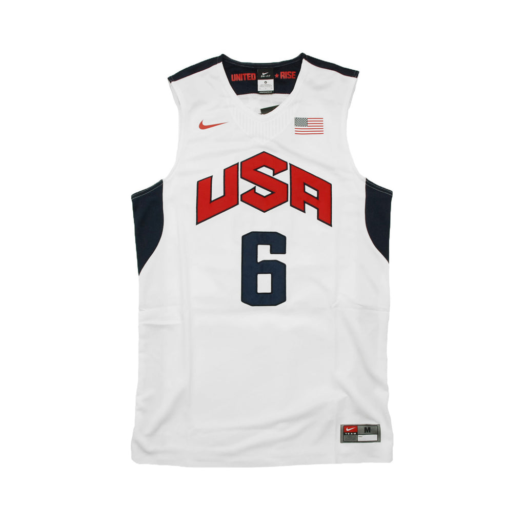 Nike USA Basketball Team Authentic Drifit Jersey (LeBron James) (516540-100)