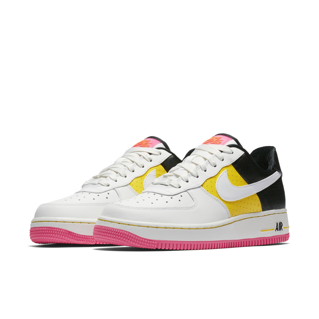 Nike Wmns Air Force 1 07 Low SE Moto White Tour Yellow (AT2583-100) - RMKSTORE