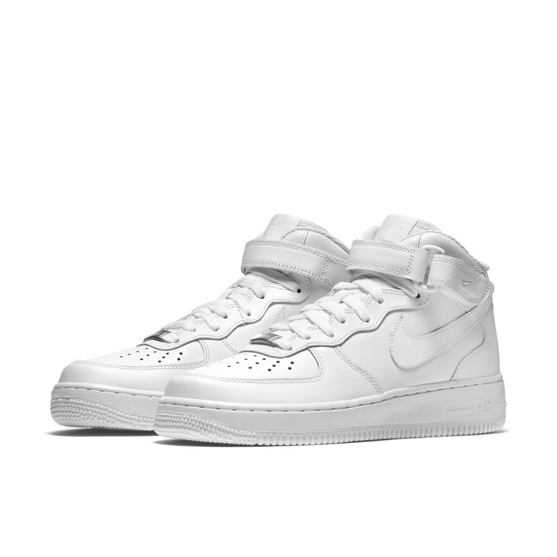 Nike Wmns Air Force 1 Mid '07 All White (366731-100)