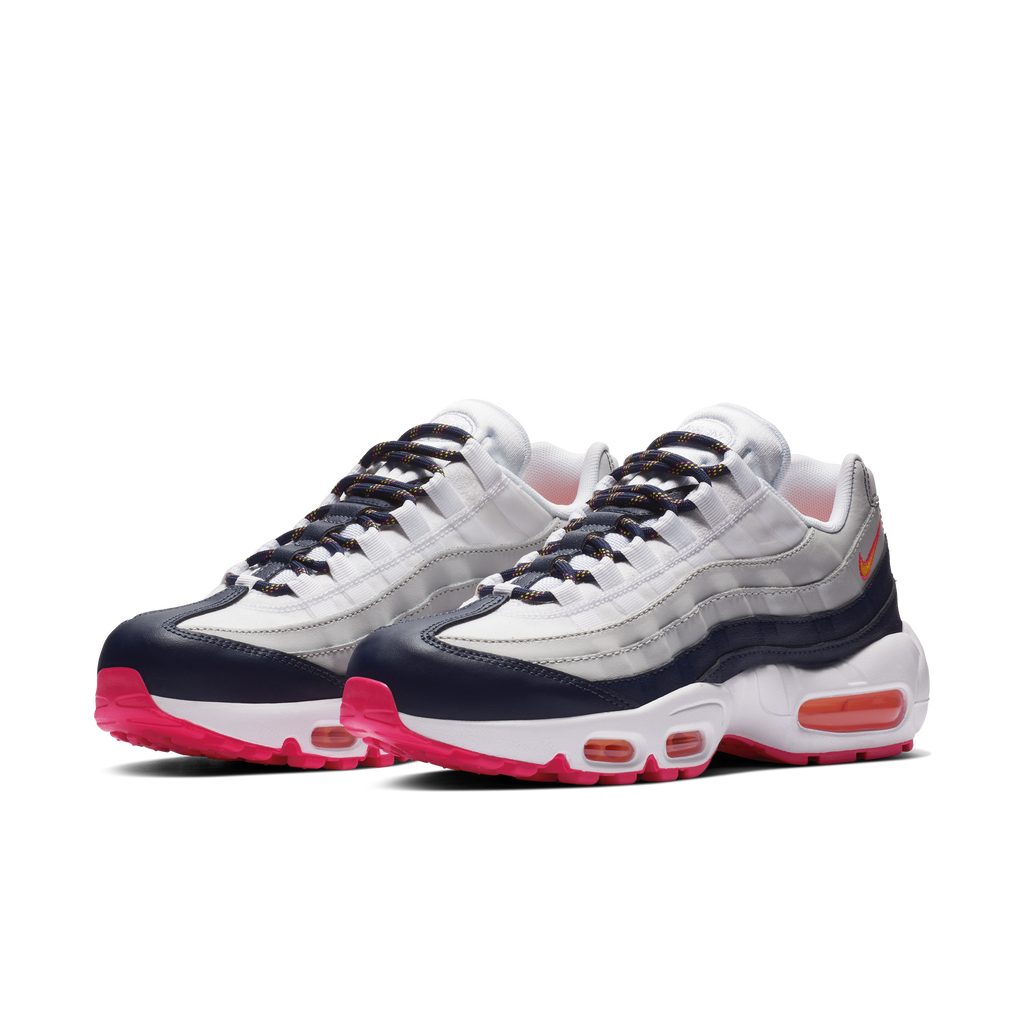 Iconic style reborn. The Air Max 95 is now available on Nike