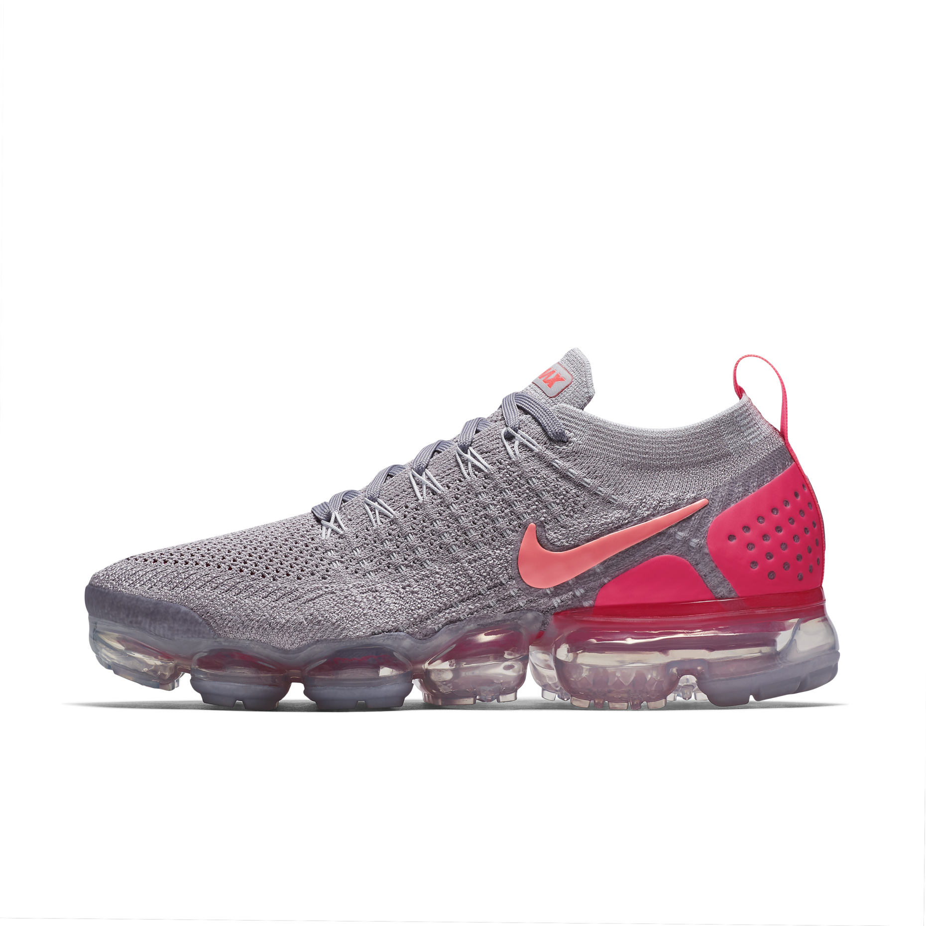 finest selection 866d6 631ed Nike Wmns Air VaporMax Flyknit 2 Atmosphere Grey Total Crimson 942843-005 1.png v 1535026582