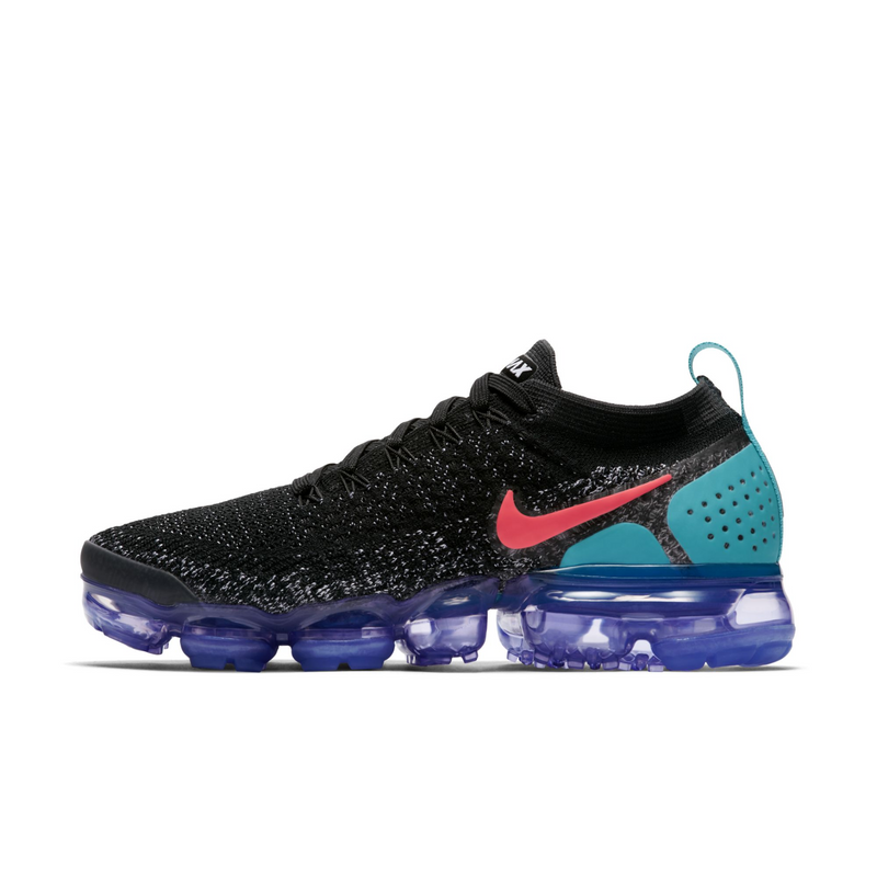 Nike Wmns Air VaporMax Flyknit 2 Black Hot Punch (942843-003) - RMKSTORE