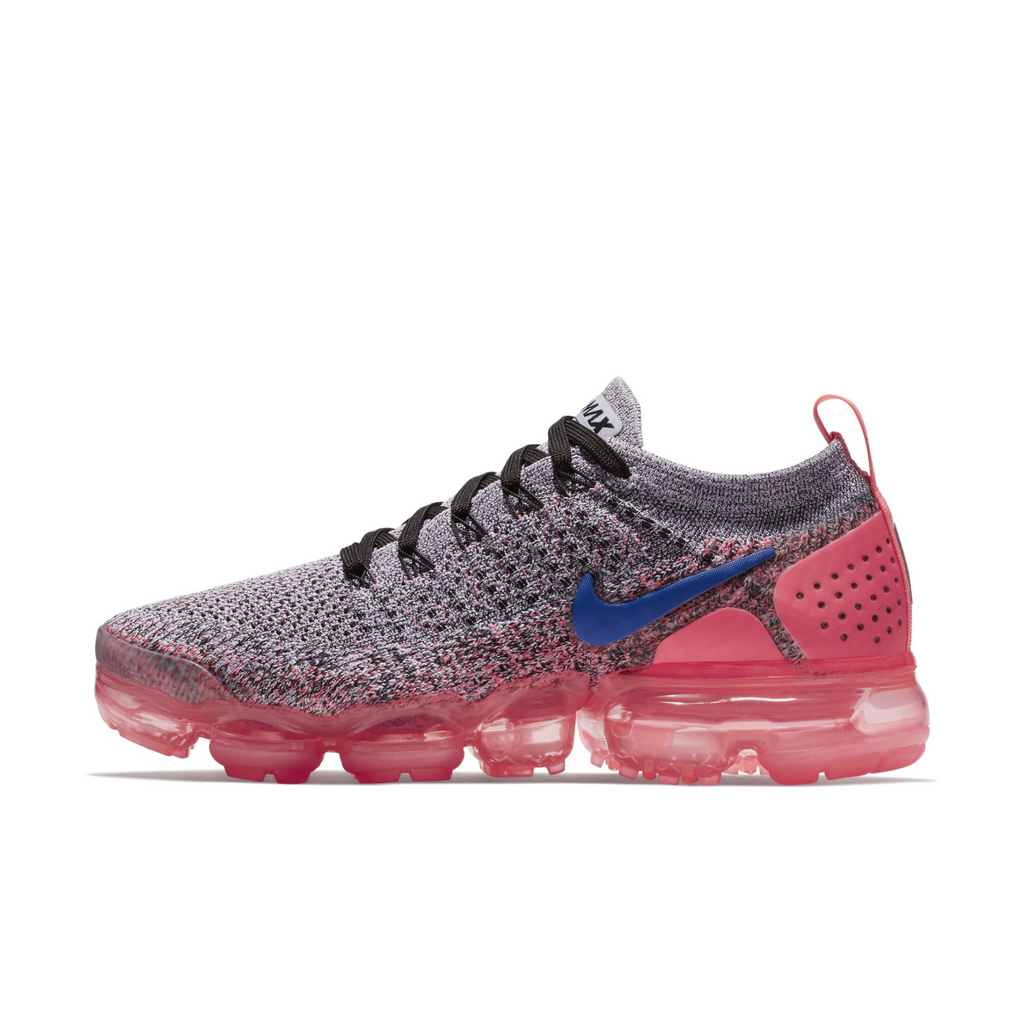Nike Wmns Air VaporMax Flyknit 2 Black Hot Punch (942843-104) - RMKSTORE