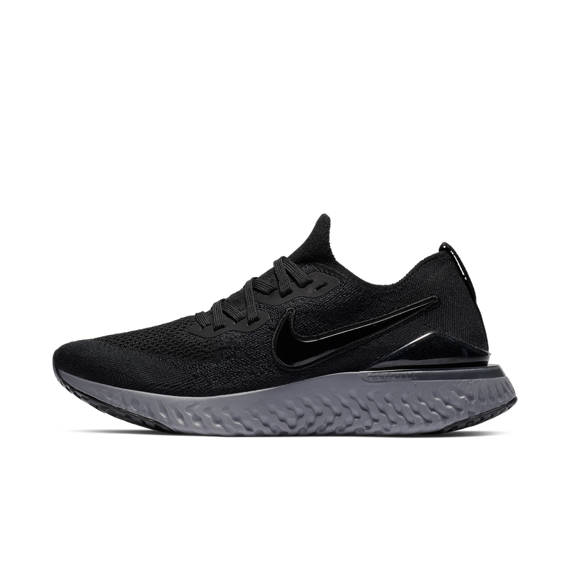 Nike Wmns Epic React Flyknit 2 Black (BQ8927-001)