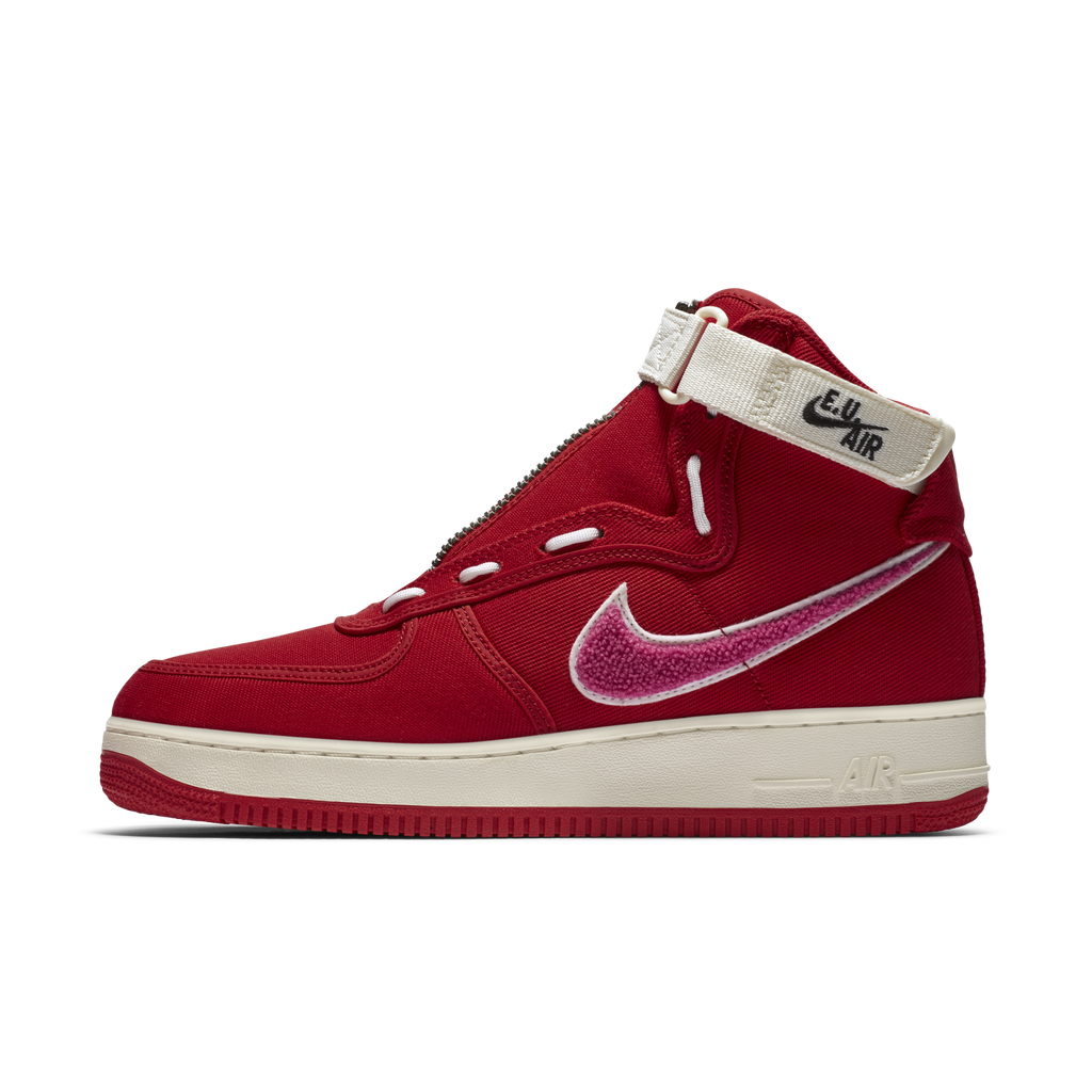 Nike x Emotionally Unavailable Air Force 1 High EU Red (AV5840-600)