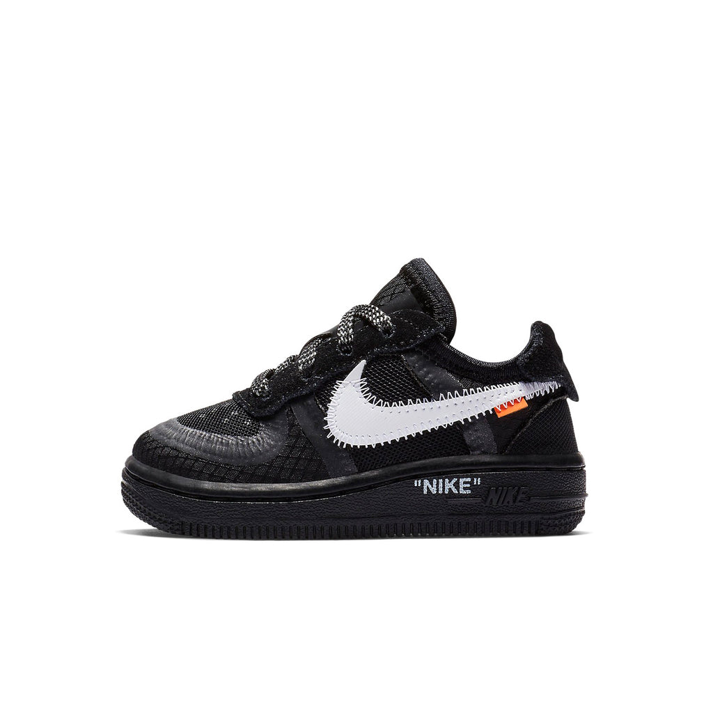 the best attitude 4dd9a cf0d7 Nike x Off-White Air Force 1 Low (TD) The Ten Black (