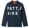 Nike x Patta Coach Jacket Dark Obsidian (AH6488-476)