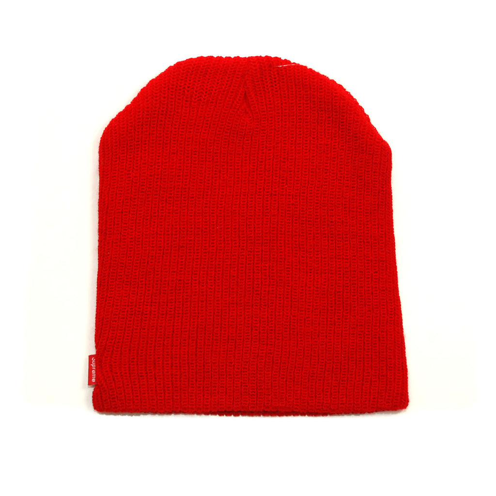 Supreme Basic Beanie Red (FW15BN2)