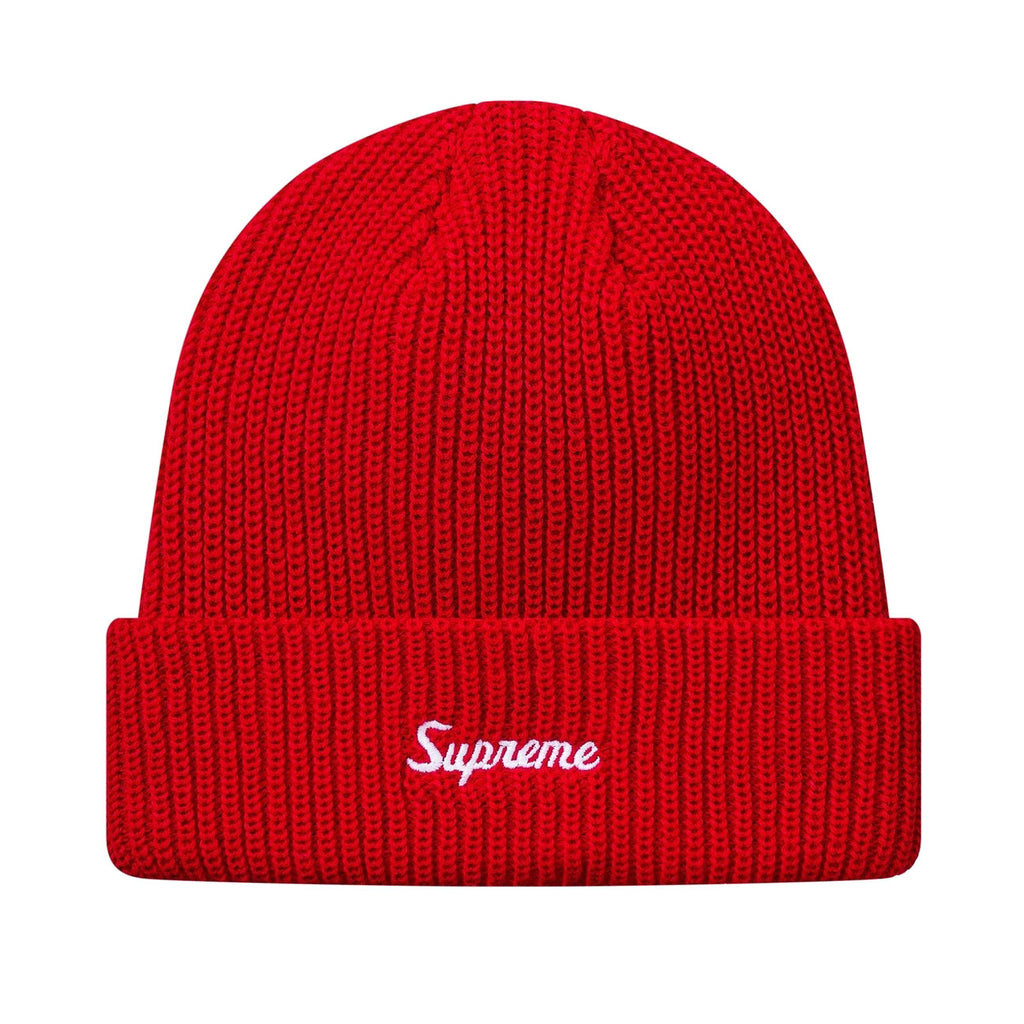Supreme Loose Gauge Beanie Red (FW17)