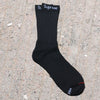 Supreme x Hanes Cotton Blend Cushion Comfort Crew Sock Black (Pair) - RMKSTORE