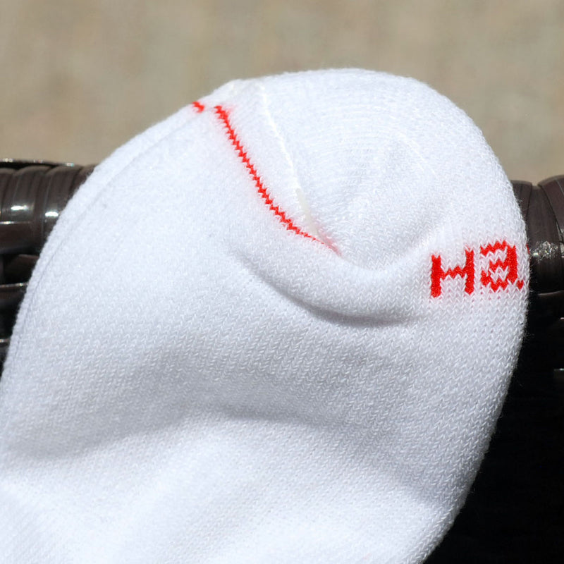 Supreme x Hanes Cotton Blend Cushion Comfort Crew Sock White (Pair) - RMKSTORE