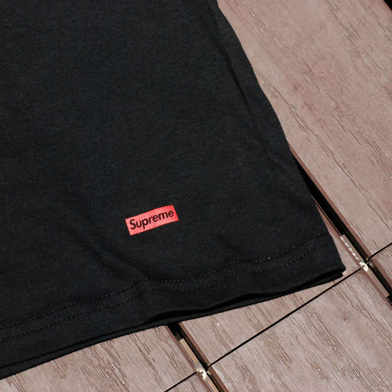 Supreme x Hanes Cotton Classic Tagless Crewneck Tees Black (For One) - RMKSTORE