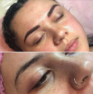 Semi Permanent Make up - Ombre Brows 2nd Session