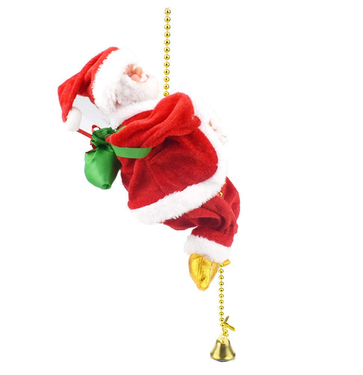 Santa Climbing in house in and out INDOOR  Christmas  Decoration kids happy toys