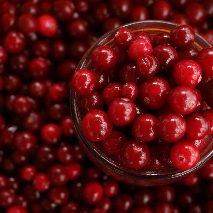 Cranberry, small but nice