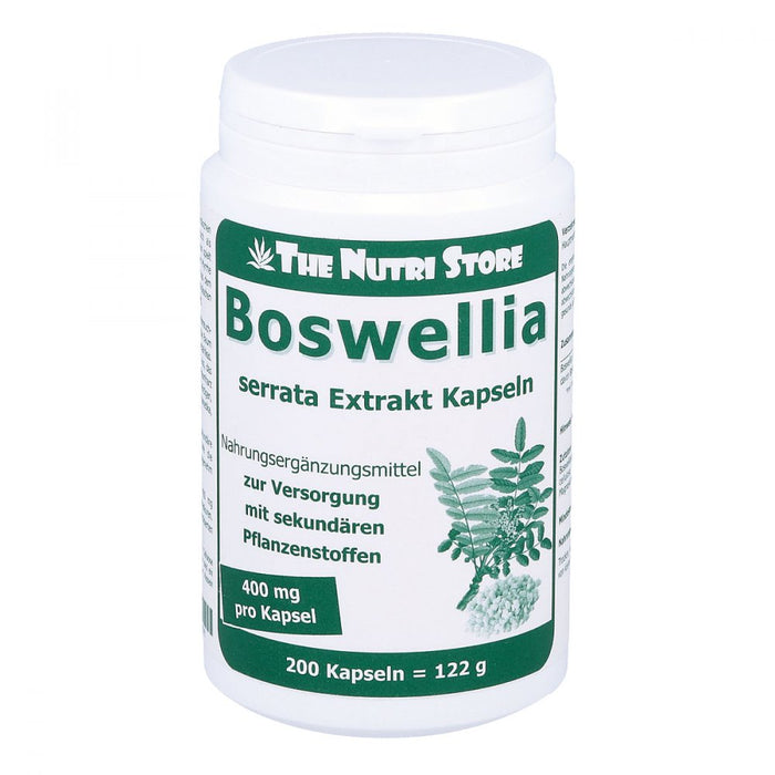 Boswellia 400 Mg Extract Vegicaps 200 pcs