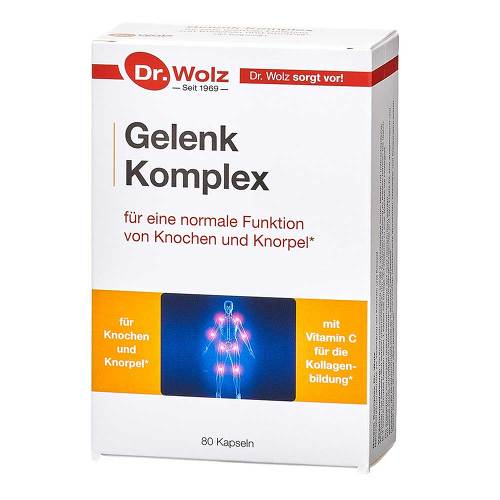 Dr. Wolz Zell Gmbh Joint Complex Dr.Wolz Capsules 80 pcs